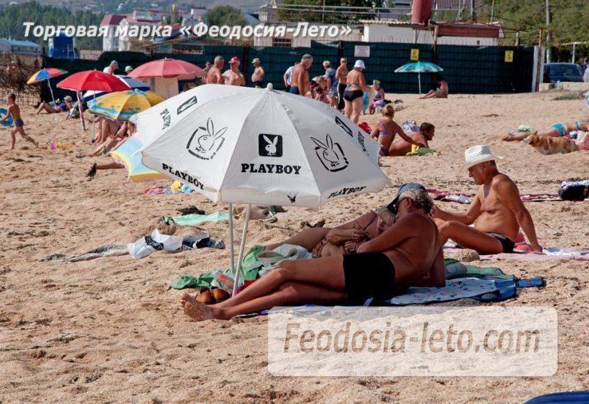 Пляжи Феодосии на Черноморской набережной - фотография № 11