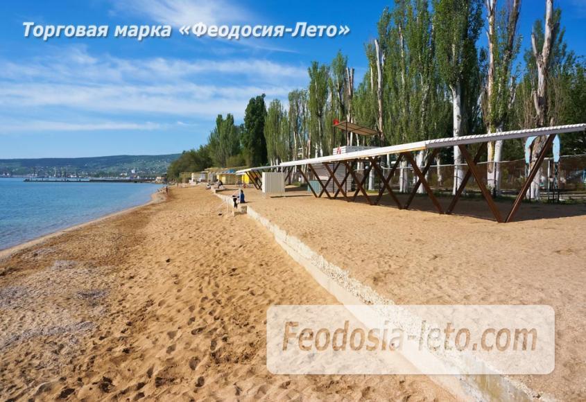 Пляж Динамо в Феодосии - фотография № 11