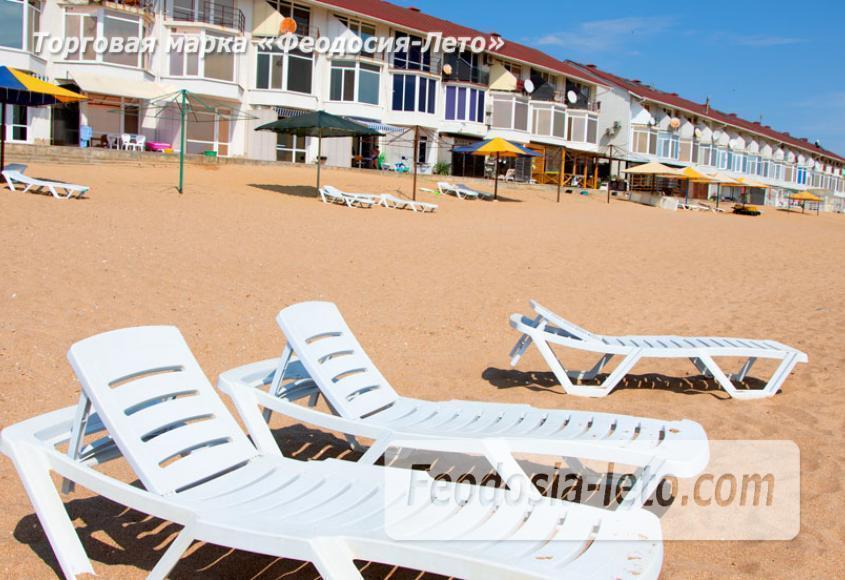 Феодосия п. Приморский пляж перед эллингами на Песчаной балке - фотография № 11