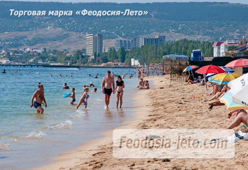 Пляжи Феодосии на Черноморской набережной - фотография № 12