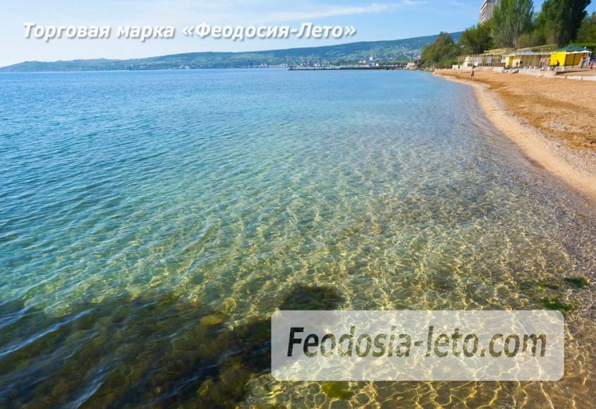 Пляж Динамо в Феодосии - фотография № 13
