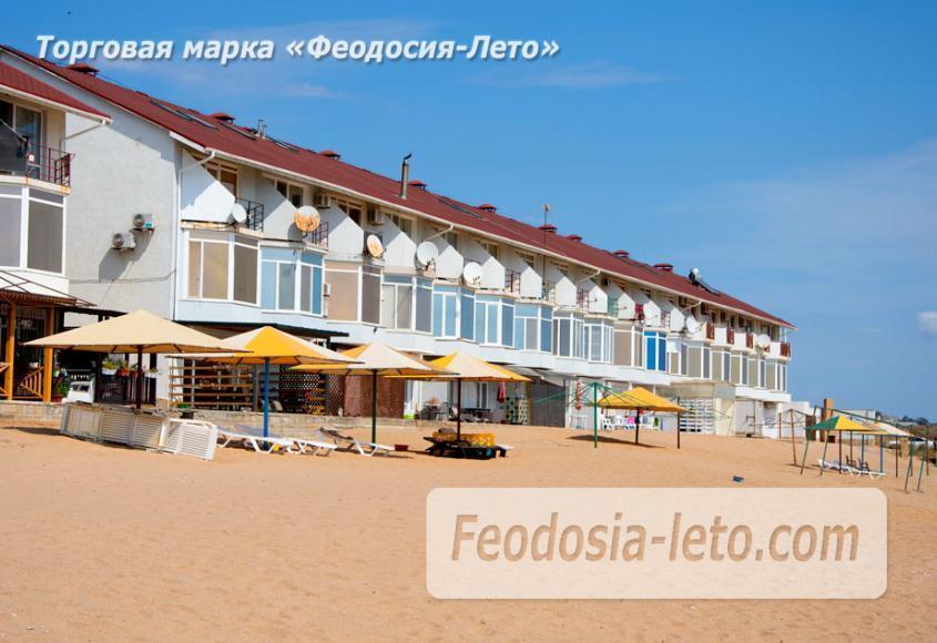 Феодосия п. Приморский пляж перед эллингами на Песчаной балке - фотография № 12