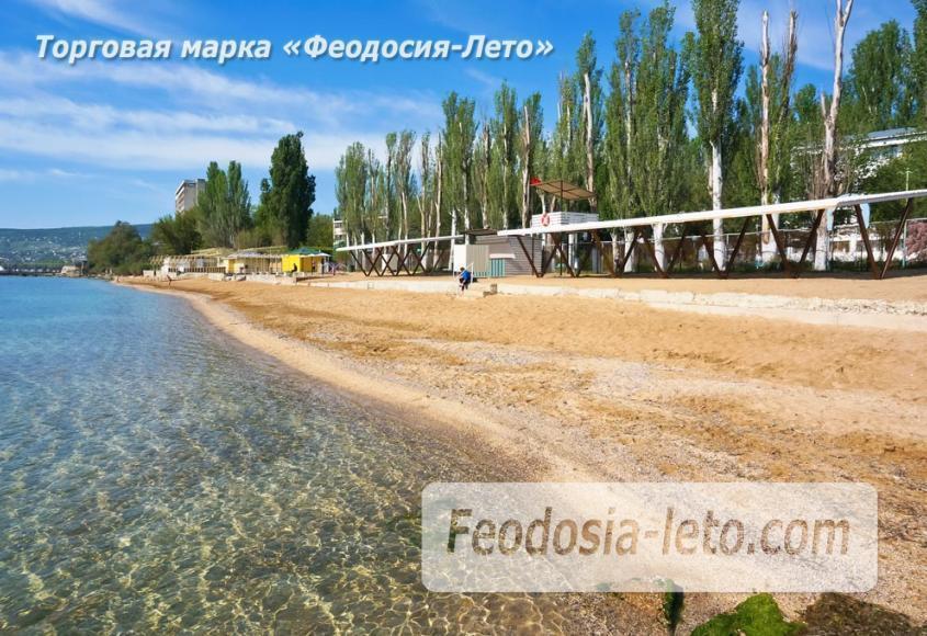 Пляж Динамо в Феодосии - фотография № 14