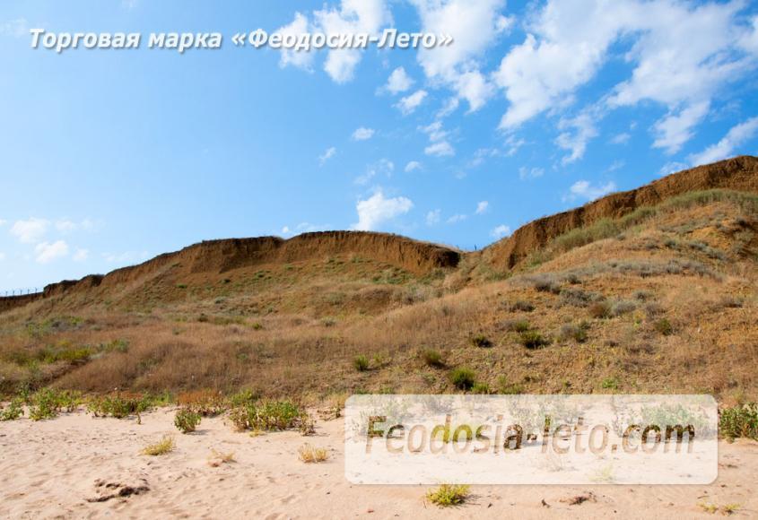 Дикий пляж на Песчаной балке п. Приморский у Феодосии - фотография № 13