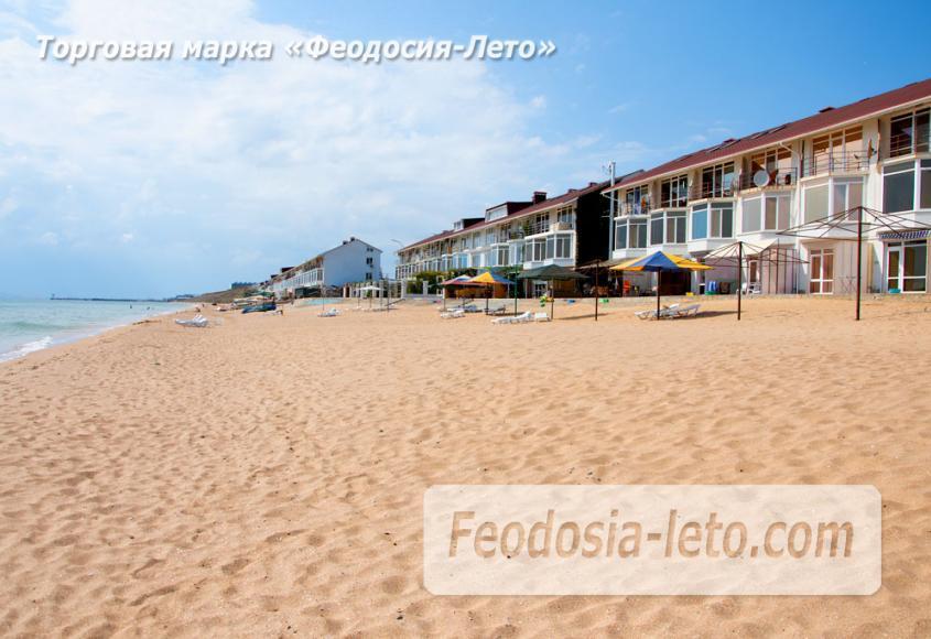 Феодосия п. Приморский пляж перед эллингами на Песчаной балке - фотография № 13