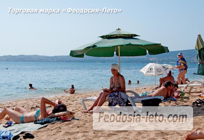 Пляжи Феодосии на Черноморской набережной - фотография № 14