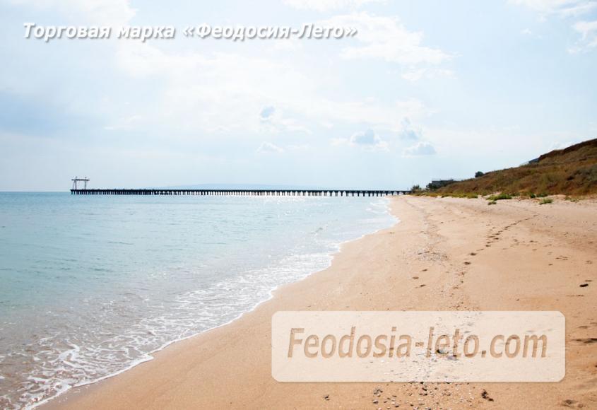 Дикий пляж на Песчаной балке п. Приморский у Феодосии - фотография № 14