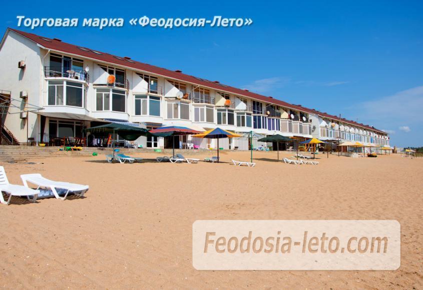 Феодосия п. Приморский пляж перед эллингами на Песчаной балке - фотография № 14