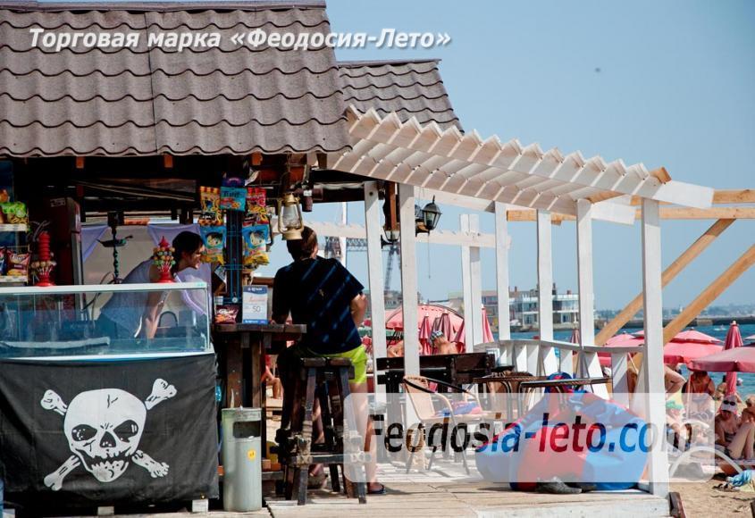 Пляжи Феодосии на Черноморской набережной - фотография № 15