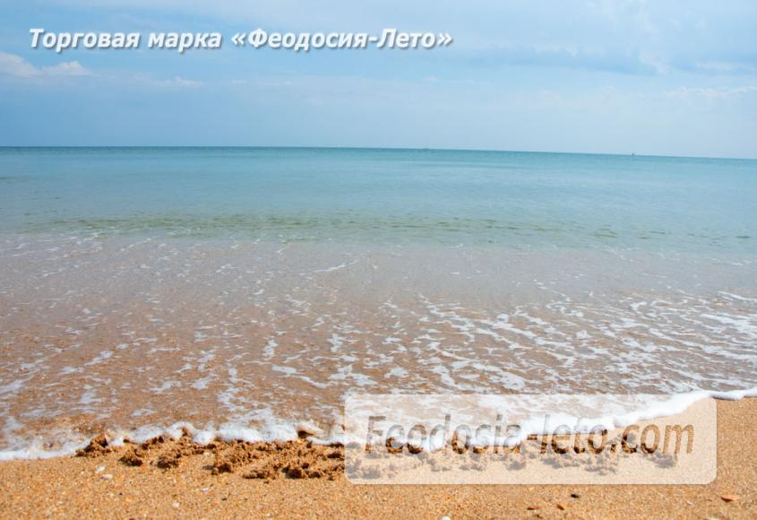 Дикий пляж на Песчаной балке п. Приморский у Феодосии - фотография № 15