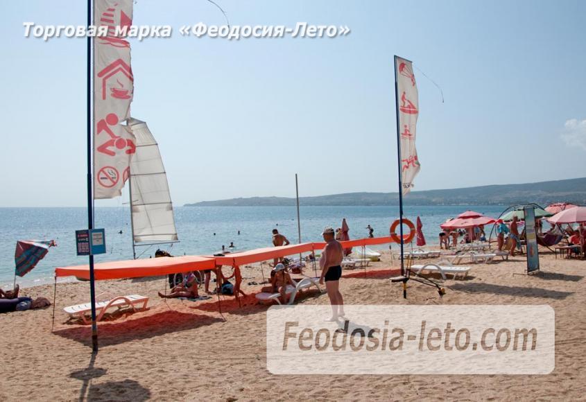 Пляжи Феодосии на Черноморской набережной - фотография № 16