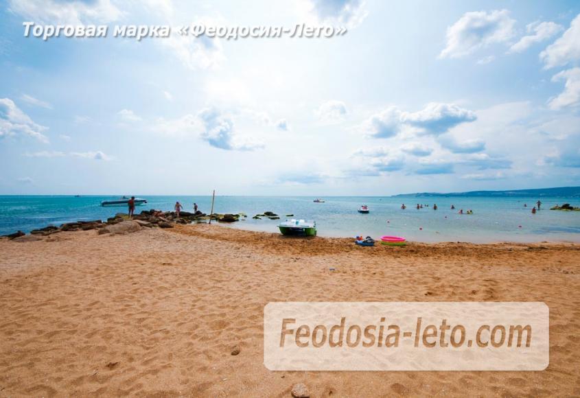 Песчаный пляж в городе Феодосия - Санта Круз - фотография № 16