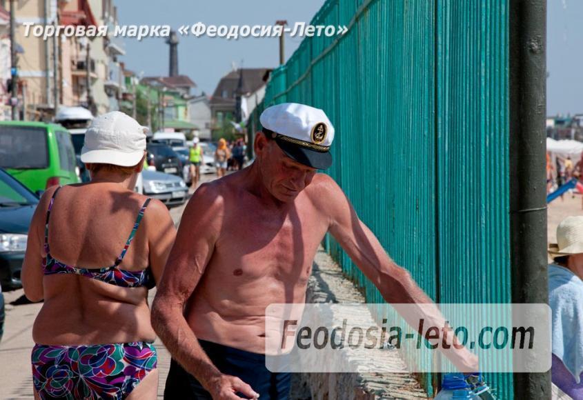 Пляжи Феодосии на Черноморской набережной - фотография № 17