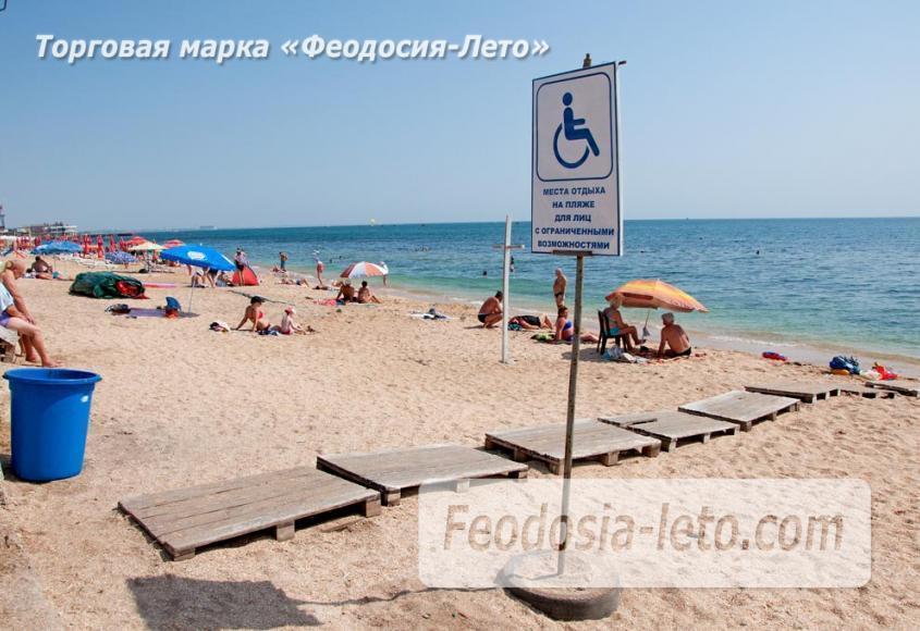 Пляжи Феодосии на Черноморской набережной - фотография № 18