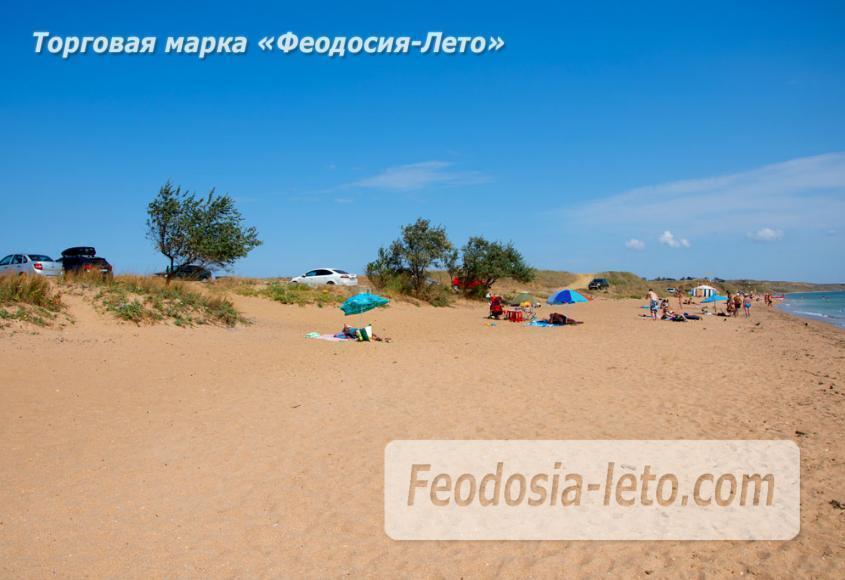 Пляж Песчанка в посёлке Приморский, Крым - фотография № 1
