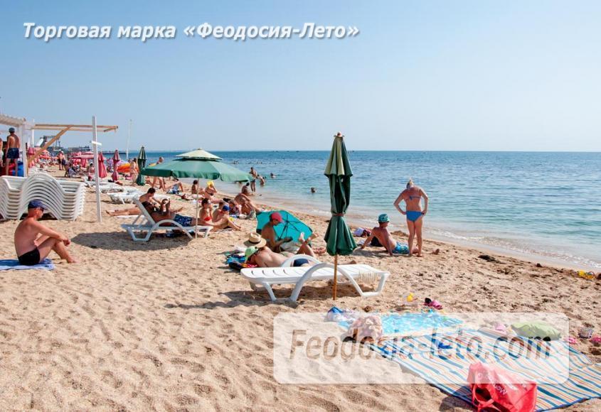 Пляжи Феодосии на Черноморской набережной - фотография № 2