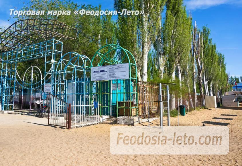 Пляж базы Крым-спорт в Феодосии - фотография № 3