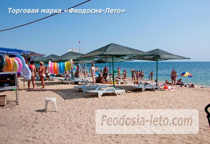 Пляжи Феодосии на Черноморской набережной - фотография № 27