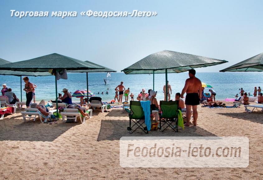 Пляжи Феодосии на Черноморской набережной - фотография № 29