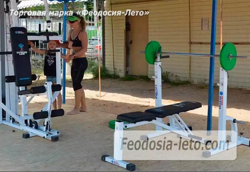 Стадион пляжных видов спорта в Феодосии - фотография № 3