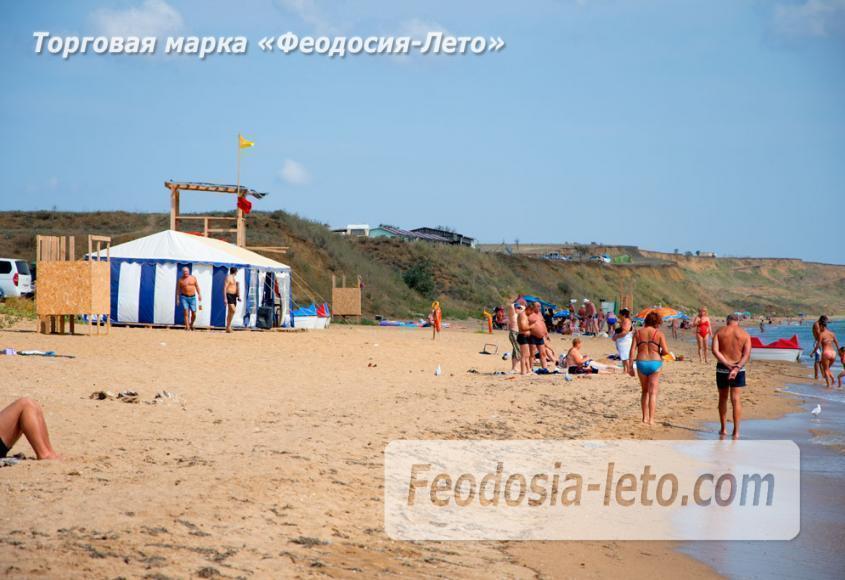 Пляж Песчанка в посёлке Приморский, Крым - фотография № 2
