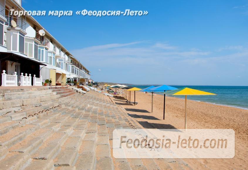 Феодосия п. Приморский пляж перед эллингами на Песчаной балке - фотография № 2