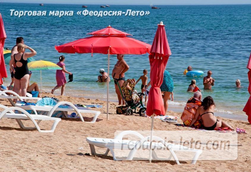 Пляжи Феодосии на Черноморской набережной - фотография № 1