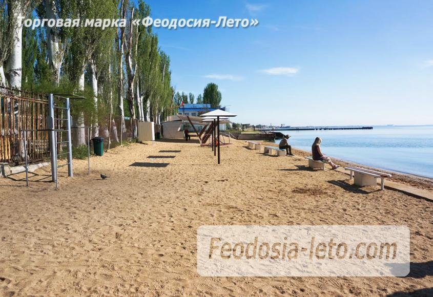 Пляж базы Крым-спорт в Феодосии - фотография № 2