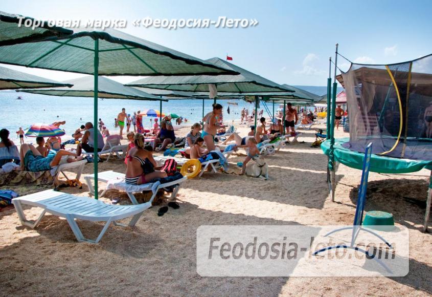 Пляжи Феодосии на Черноморской набережной - фотография № 31