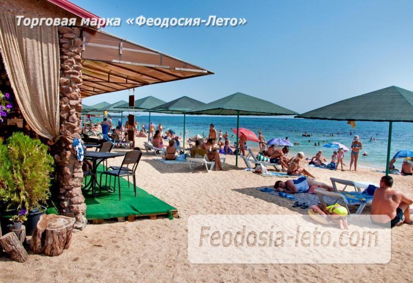 Пляжи Феодосии на Черноморской набережной - фотография № 33