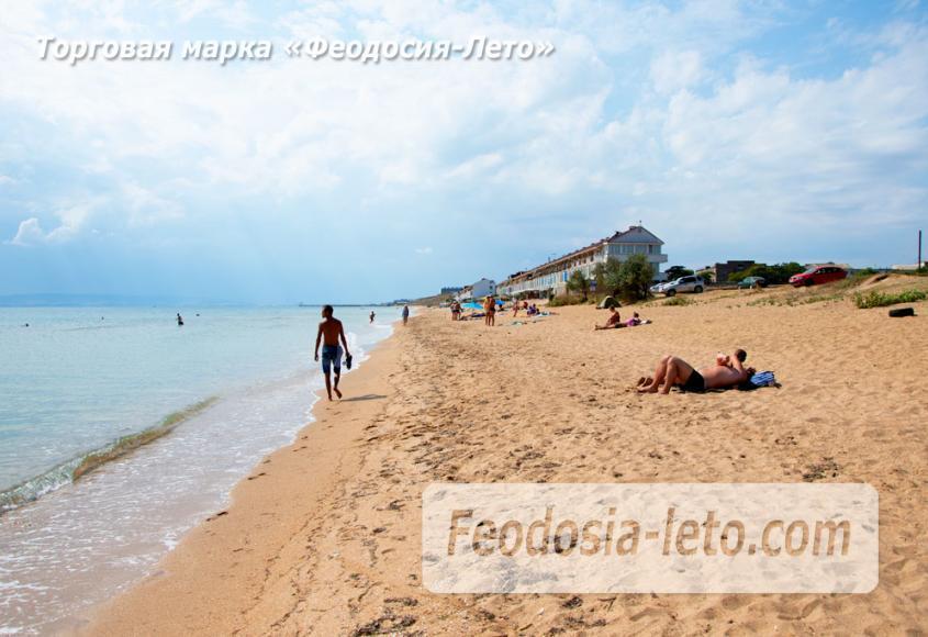 Пляж Песчанка в посёлке Приморский, Крым - фотография № 3