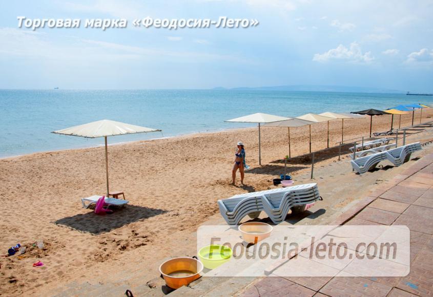 Феодосия п. Приморский пляж перед эллингами на Песчаной балке - фотография № 3