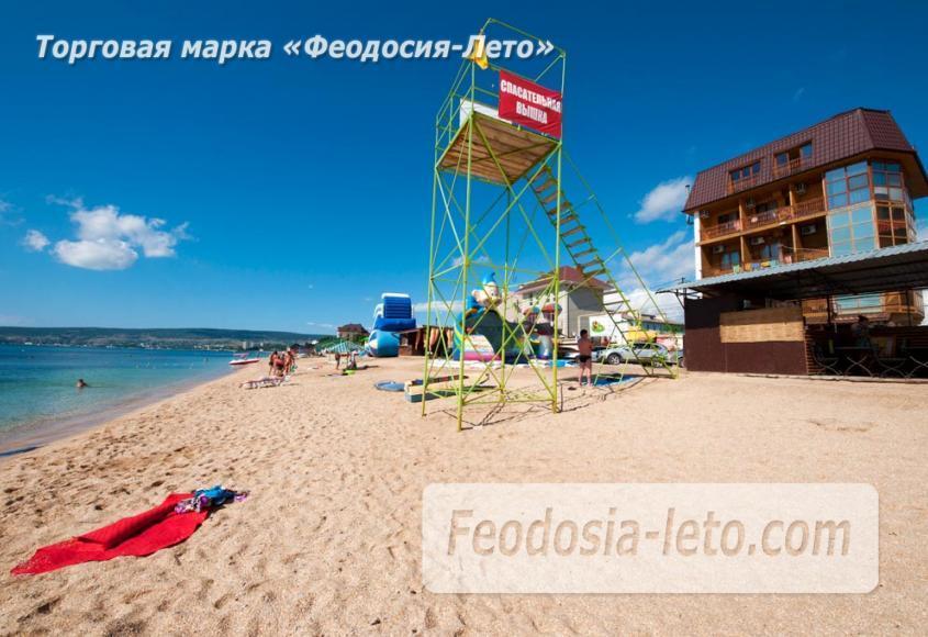 Пляж Жажда в Феодосии - фотография № 3