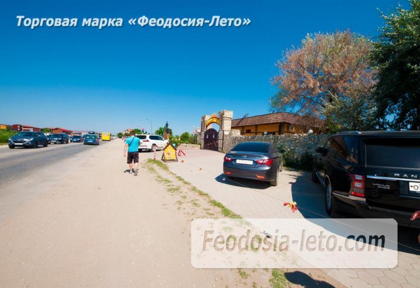 Семейный пляж в Феодосии песчаный на против микрорайона Ближние камыши - фотография № 3