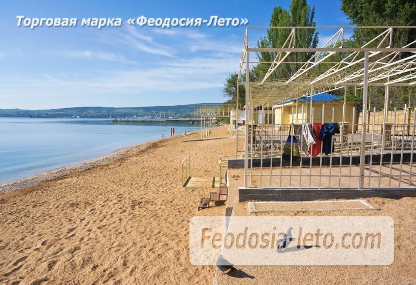 Пляж базы Крым-спорт в Феодосии - фотография № 4