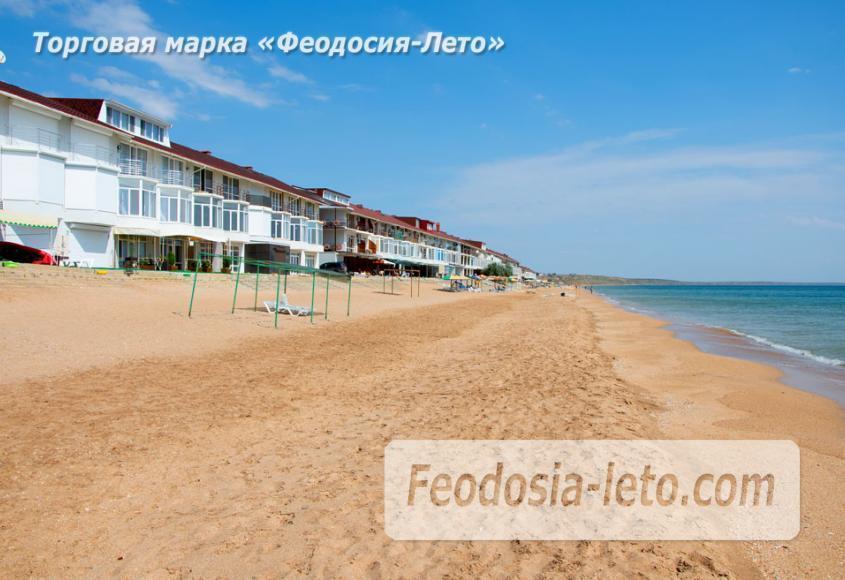 Феодосия п. Приморский пляж перед эллингами на Песчаной балке - фотография № 4