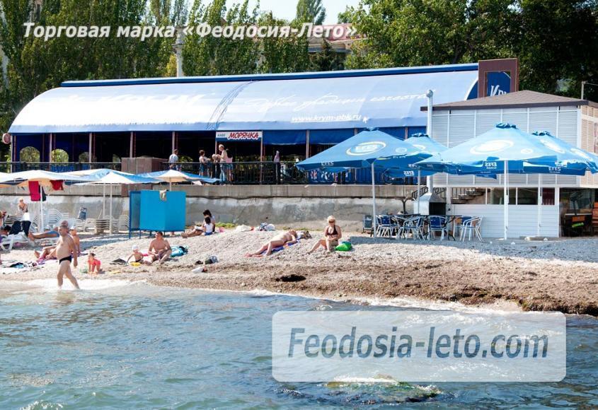 Галечный пляж Камешки в г. Феодосия - фотография № 24