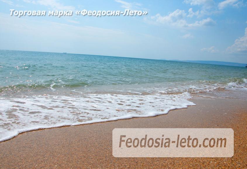 Дикий пляж на Песчаной балке п. Приморский у Феодосии - фотография № 4