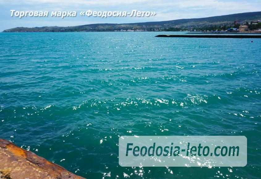 Пляж Ай-Петри, рядом с кафе Суворинские камни в Феодосии - фотография № 21