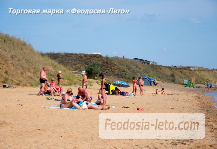 Пляж Песчанка в посёлке Приморский, Крым - фотография № 5