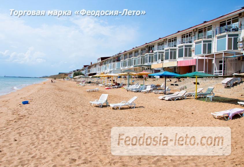 Феодосия п. Приморский пляж перед эллингами на Песчаной балке - фотография № 5