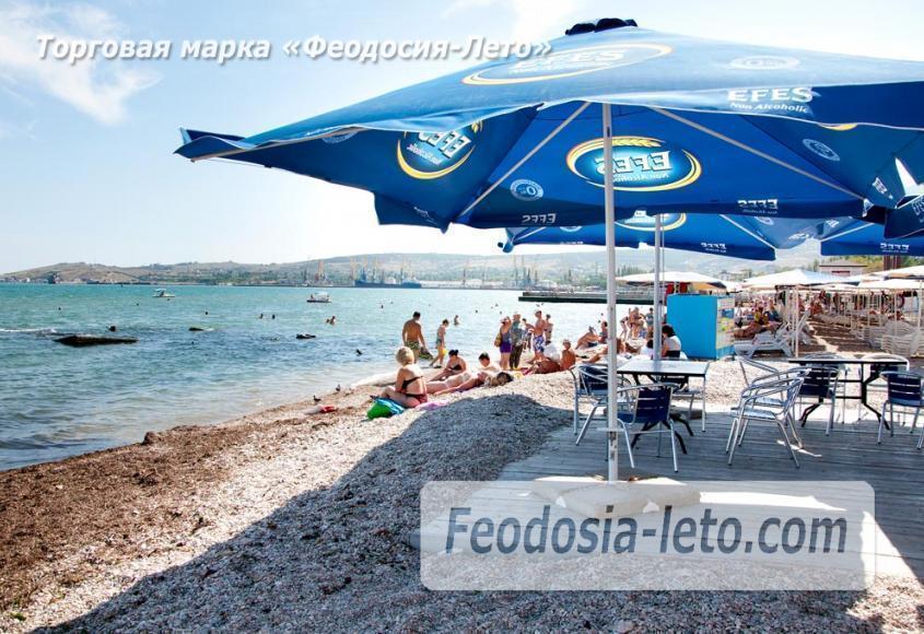 Галечный пляж Камешки в г. Феодосия - фотография № 26