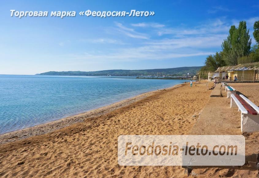 Пляж Динамо в Феодосии - фотография № 7