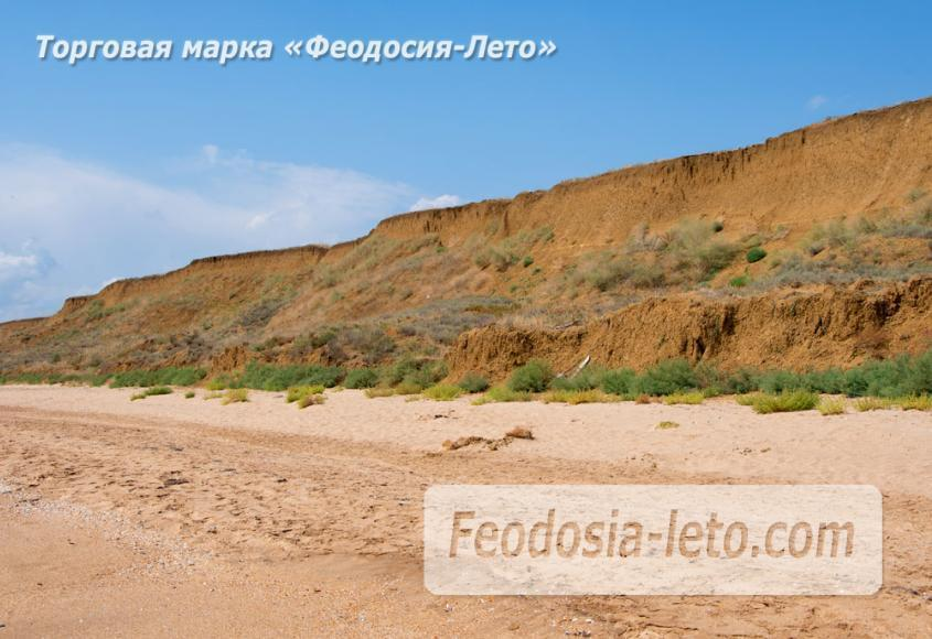 Дикий пляж на Песчаной балке п. Приморский у Феодосии - фотография № 6