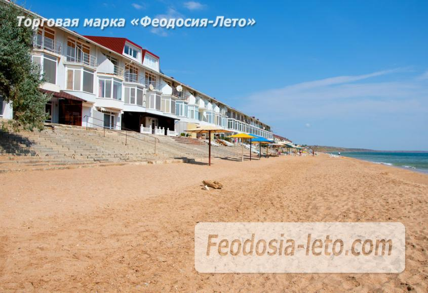 Феодосия п. Приморский пляж перед эллингами на Песчаной балке - фотография № 6