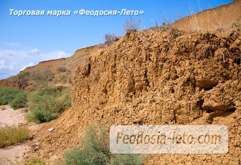 Дикий пляж на Песчаной балке п. Приморский у Феодосии - фотография № 7