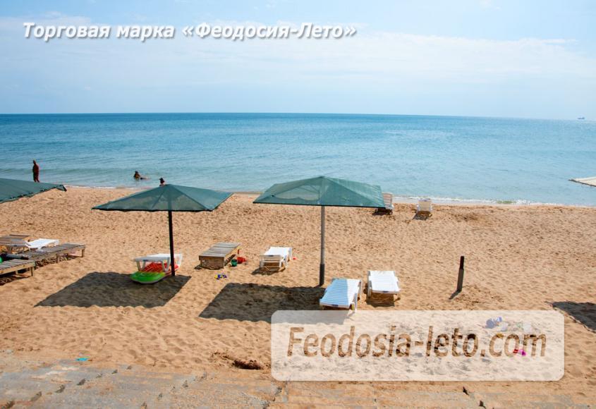 Феодосия п. Приморский пляж перед эллингами на Песчаной балке - фотография № 7