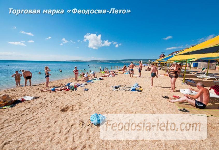 Пляж Жажда в Феодосии - фотография № 8
