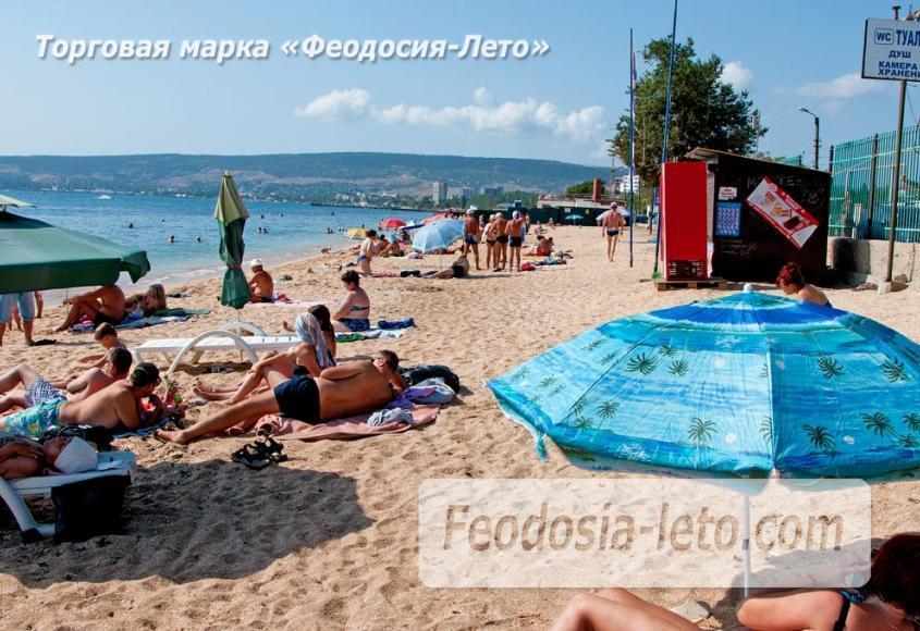 Пляжи Феодосии на Черноморской набережной - фотография № 8