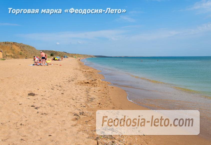 Дикий пляж на Песчаной балке п. Приморский у Феодосии - фотография № 8